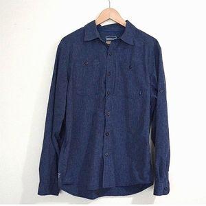 Merrell Men's Outdoor Button Up Shirt UPF 30+